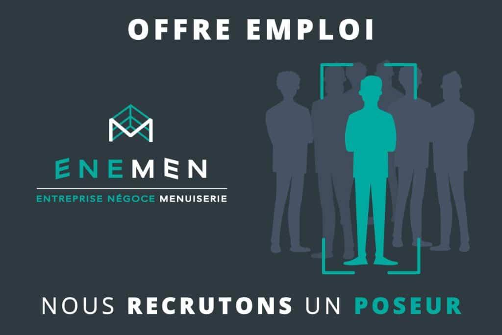 Pup-up recrutement sur le site Enemen à Laissac